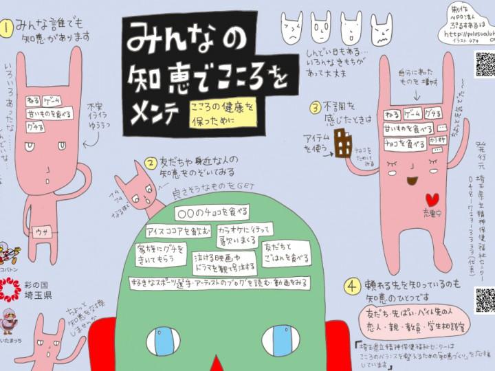 十文字学園女子大学で学食トレイチラシ「みんなの知恵でこころをメンテ」配布!