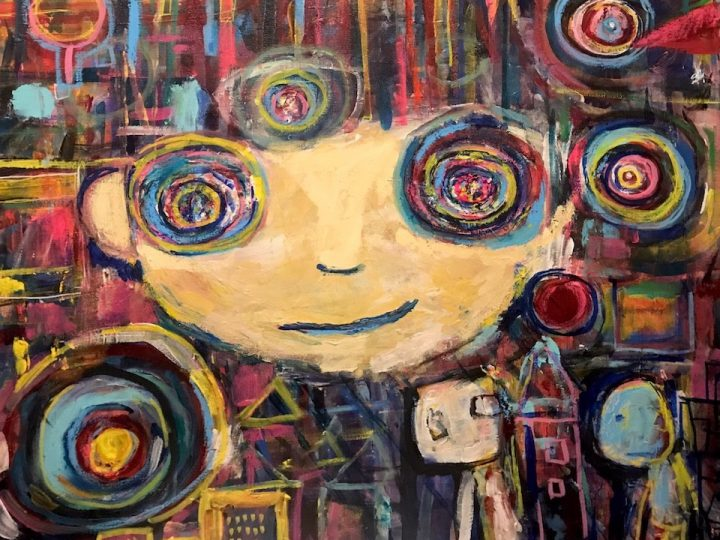 "An art exhibition  ""TO RECOGNIZE CHILDREN WHOM WE CANNOT SEE"""